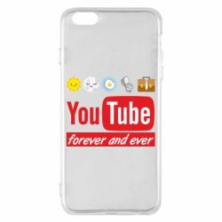 Чохол для iPhone 6 Plus/6S Plus Forever and ever emoji's life youtube