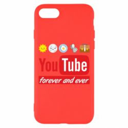 Чохол для iPhone 7 Forever and ever emoji's life youtube