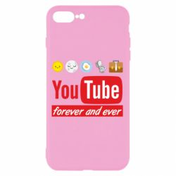 Чохол для iPhone 7 Plus Forever and ever emoji's life youtube