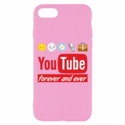 Чохол для iPhone 8 Forever and ever emoji's life youtube
