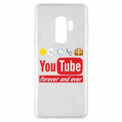 Чохол для Samsung S9+ Forever and ever emoji's life youtube