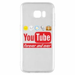Чохол для Samsung S7 EDGE Forever and ever emoji's life youtube