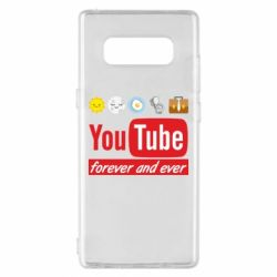 Чохол для Samsung Note 8 Forever and ever emoji's life youtube