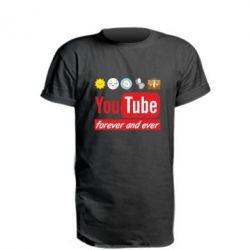 Подовжена футболка Forever and ever emoji's life youtube