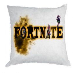 Подушка Fortnite and colored smoke