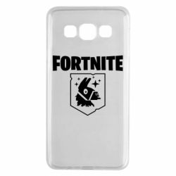Чехол для Samsung A3 2015 Fortnite and llama