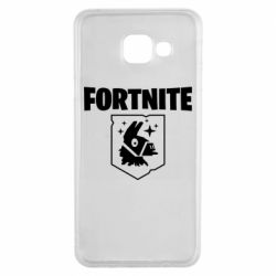 Чехол для Samsung A3 2016 Fortnite and llama