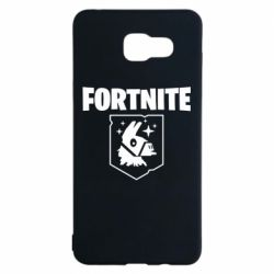 Чехол для Samsung A5 2016 Fortnite and llama