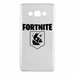 Чехол для Samsung A7 2015 Fortnite and llama