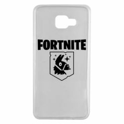 Чехол для Samsung A7 2016 Fortnite and llama