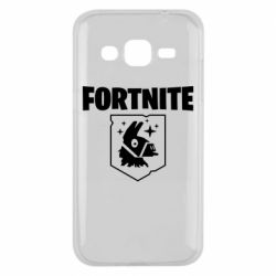 Чехол для Samsung J2 2015 Fortnite and llama