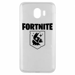 Чехол для Samsung J4 Fortnite and llama