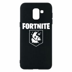 Чехол для Samsung J6 Fortnite and llama