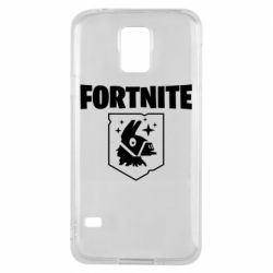 Чехол для Samsung S5 Fortnite and llama