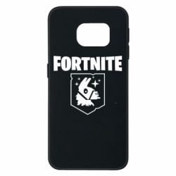 Чехол для Samsung S6 EDGE Fortnite and llama
