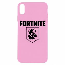 Чехол для iPhone Xs Max Fortnite and llama