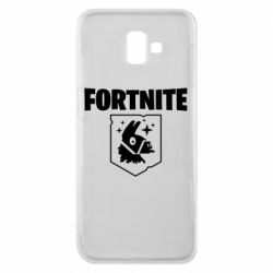 Чехол для Samsung J6 Plus 2018 Fortnite and llama