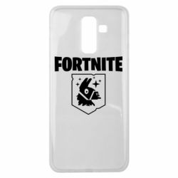 Чехол для Samsung J8 2018 Fortnite and llama