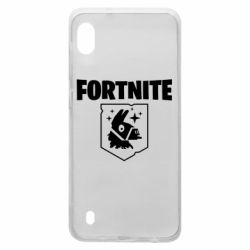 Чехол для Samsung A10 Fortnite and llama