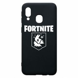 Чехол для Samsung A40 Fortnite and llama