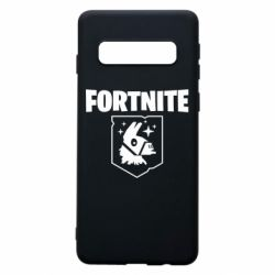 Чехол для Samsung S10 Fortnite and llama