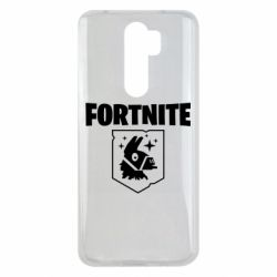 Чехол для Xiaomi Redmi Note 8 Pro Fortnite and llama