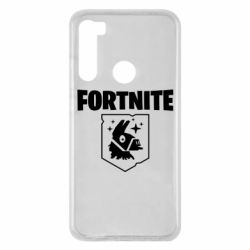 Чехол для Xiaomi Redmi Note 8 Fortnite and llama