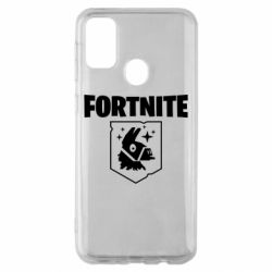 Чехол для Samsung M30s Fortnite and llama