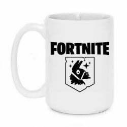 Кружка 420ml Fortnite and llama