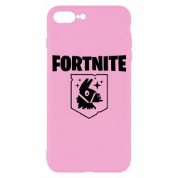 Чехол для iPhone 7 Plus Fortnite and llama