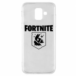 Чехол для Samsung A6 2018 Fortnite and llama