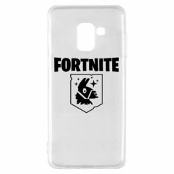 Чехол для Samsung A8 2018 Fortnite and llama