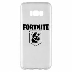 Чехол для Samsung S8+ Fortnite and llama