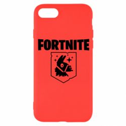 Чехол для iPhone 8 Fortnite and llama