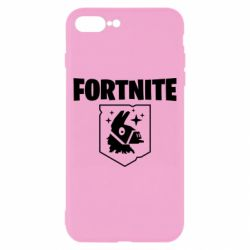 Чехол для iPhone 8 Plus Fortnite and llama