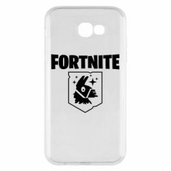 Чехол для Samsung A7 2017 Fortnite and llama
