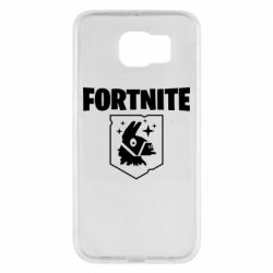 Чехол для Samsung S6 Fortnite and llama