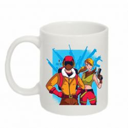 Кружка 320ml Fortnite art