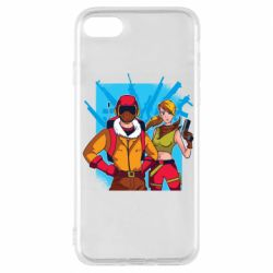 Чехол для iPhone 7 Fortnite art
