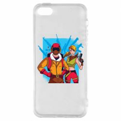 Чехол для iPhone5/5S/SE Fortnite art
