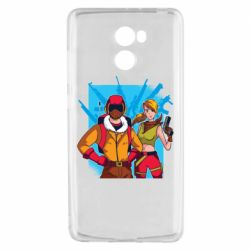 Чехол для Xiaomi Redmi 4 Fortnite art