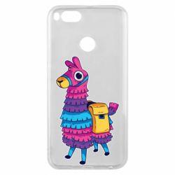 Чехол для Xiaomi Mi A1 Fortnite colored llama