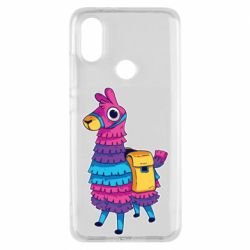Чехол для Xiaomi Mi A2 Fortnite colored llama