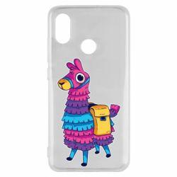 Чехол для Xiaomi Mi8 Fortnite colored llama