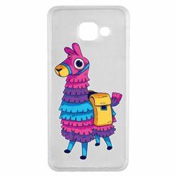 Чехол для Samsung A3 2016 Fortnite colored llama
