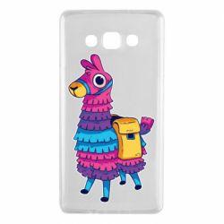Чехол для Samsung A7 2015 Fortnite colored llama