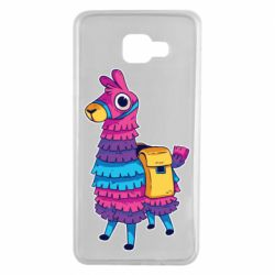 Чехол для Samsung A7 2016 Fortnite colored llama