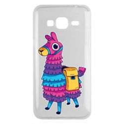 Чехол для Samsung J3 2016 Fortnite colored llama