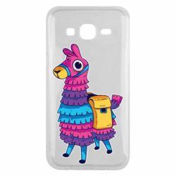 Чехол для Samsung J5 2015 Fortnite colored llama