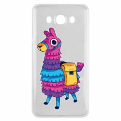 Чехол для Samsung J7 2016 Fortnite colored llama